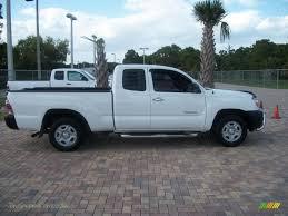 2005 Toyota Tacoma Access Cab in Super White - 055998 | Jax Sports ...