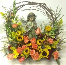 angel garden. angel garden tribute sympathy arrangements