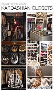 Kim Kardashian Bedroom Decor Spread Of The Week Kardashian Closets Popular Kim Kardashian