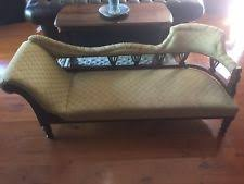 victorian chaise lounge. Antique Victorian Chaise Lounge U