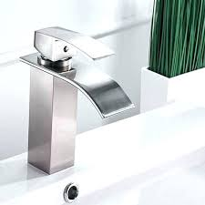 U Delta Faucets Home Depot Waterfall Faucet Kitchen  Sink