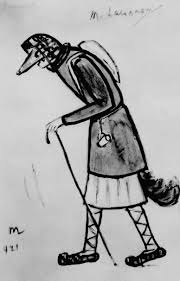михаил федорович ларионов лиса эскиз костюма для балета и