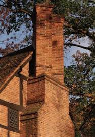 many old house chimneys serve a hearth on each floor with multiple flues that snake