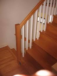 replace stair railing. Wonderful Replace MD After Stair Railing Replacement  Frederick In Replace A
