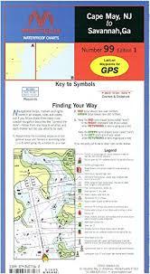 Amazon Com Maptech Waterproof Charts Wpc099 Cape May Nj