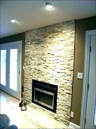 fake rock fireplace post painting stone wall ideas design faux panels manufactured veneer pane fake rock fireplace