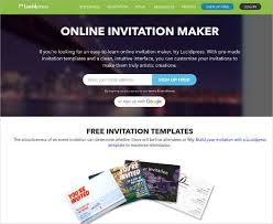 Free Online Invitation Maker Email Top Best 12 Online Invitation Makers Tools To Make Your