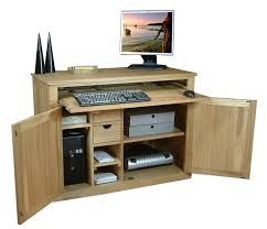 traditional hidden home office. Traditional Hidden Home Office. Office Desk. | Computer Desks Mobel Oak