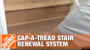 How To Install Cap A Tread Stair Renewal System The Home Depot