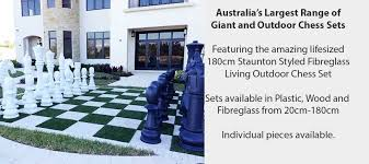 giant chess sets available at yard