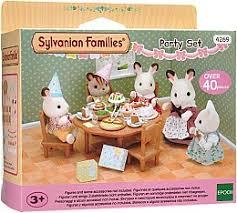 игровой набор sylvanian families морская вечеринка 5207
