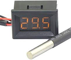 "DEOK 0.36"" <b>Digital Thermometer</b> Car Outside Temperature Testing ..."