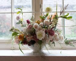 Charleston Farmhouse kitchen flowers   Aesme Flowers London