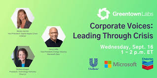 Lessons in Crisis Leadership from Microsoft, Unilever, and Chevron Execs -  Greentown Labs