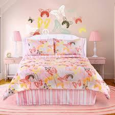 girls bedroom decorations. pastel pink butterfly themed bedroom girls decorations