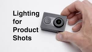 how to setup lighting for close up shots