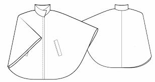 Poncho Sewing Pattern Gorgeous Poncho Sewing Pattern 48 Madetomeasure Sewing Pattern From