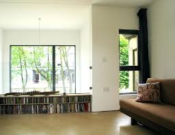 low modern bookcase long low bookcase family room contemporary with balcony bookcase  bookshelves built image by