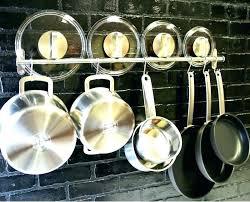 wall mounted pot rack ikea hanging