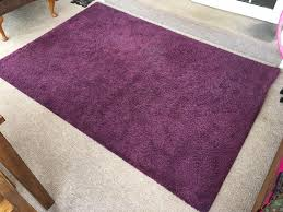 ikea adum purple rug