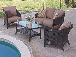 chair king patio furniture. tortuga 4 pc. aluminum \u0026 woven resin wicker loveseat group chair king patio furniture