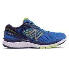 new balance shoes blue. new balance 860v7, blue with yellow shoes l