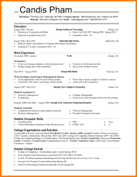 10 Plain Text Format Resume Address Example