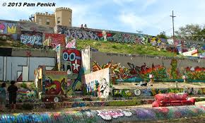 austin s graffiti hill on castle hill wall art with austin s graffiti hill digging
