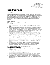 Example Career Objective For Resume General Best Of Qualifications