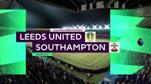 Fifa 21- leeds United vs Southampton match prediction - YouTube