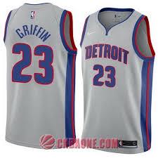 23 Detroit Griffin Camisetas City Gris Blake Nba 2018 Swingman Pistons Comprar