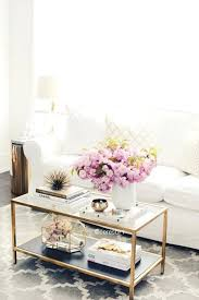 decorate glass coffee table decorating round coffee table ideas