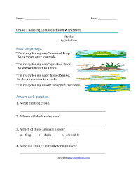 Readings are also good for k12; Reading Worksheets First Grade Reading Worksheets