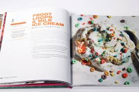 fruit loops milk ice cream page from coolhausicecreambook darla jardine hunting