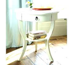 round side table white white side table nice round side table with drawer side tables round