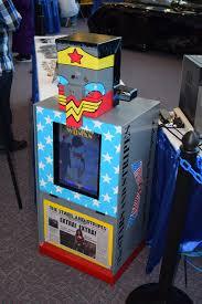 Newspaper Vending Machine Delectable Wonder Woman Deco Newspaper Vending Machine At Rhode Islan Flickr