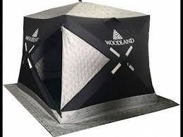 <b>Зимняя палатка</b> куб <b>Woodland</b> Ultra Comfort трехслойная - YouTube