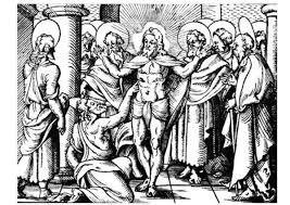 Kleurplaat Ongelovige Thomas P21755 Rk Johannes De Doper