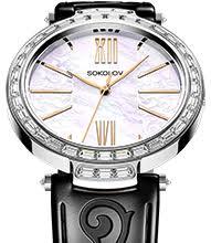 купить в официальном ... - Женские серебряные часы SOKOLOV