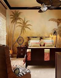jungle themed furniture. Safari Themed Bedroom With Painted Wallpaper Jungle Furniture N