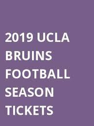 Ucla Football Seating Chart 2019 2019 Ucla Bruins Football Season Tickets Tickets Calendar