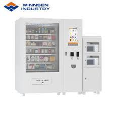 Food Vending Machine Custom China Winnsen Hot Fast Food Vending Machine With Microwave China