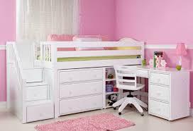 loft bed rollaway desk