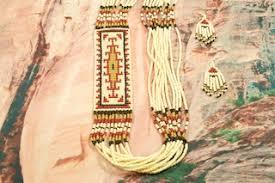 navajo bead designs. Wonderful Navajo Navajo Necklace And Earrings Set Intended Bead Designs Y