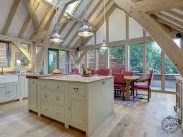 A Frame Kitchen Timber Frame Additions Timber Frame Design And Complete Build