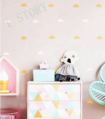 gold cloud wall decal stickers white cloud wall decals cloud nursery decor free unique cloud wall decals nz