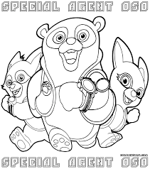 Small Picture Special Agent Oso coloring pages Coloring pages to download and
