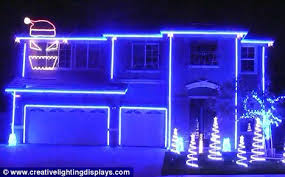 led lighting for house. Festive Fun: Kevin Judd Has Hooked Up Thousands Of LED Lights To His California Home Led Lighting For House K