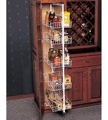 Kitchen Pantry Organizer Pantry Roll Out Storage System In Pull Out Pantry Organizers