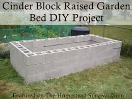 Small Picture Garden Design Garden Design with Cinder Block Raised Garden Bed